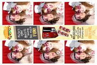 Pink Bridal Show - LEFT photo booth